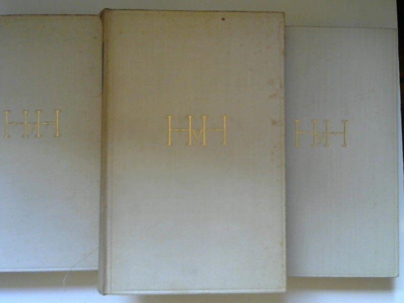 Hugo, von Hofmannsthal: 3 Bücher zusammen - Hugo von Hofmannsthal: Gesammelte Werke in 3 Bänden. 1) Die Gedichte/ Lyrische Dramen/ Lustspiele; 2) Dramen; 3) Der Turm/ Erzählungen/ Gespräche und Briefe/ Reden und Aufsätze.