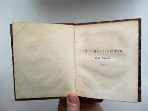Rellstab, Ludwig: Die Artilleristen. Novelle. [Aus: Berliner Kalender auf das Gemein-Jahr 1835, Hg.: Königlich Preußische Kalender Deputation. Hier nur die Novelle]