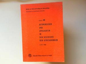 Wildt, Kl. C.: Auswanderer und Emigranten in der Geschichte der Leibesübungen [Beiträge zur Lehre und Forschung der Leibeserziehung Band 19]