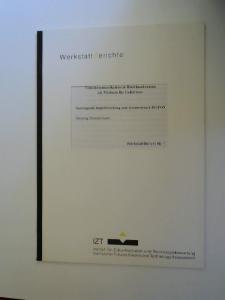 Dunckelmann, Henning: Videokommunikation in Breitbandnetzten als Medium für Gehörlose. Soziologische Begleitforschung zum Systemversuch BIGFON. [WerstattBericht Nr. 1]