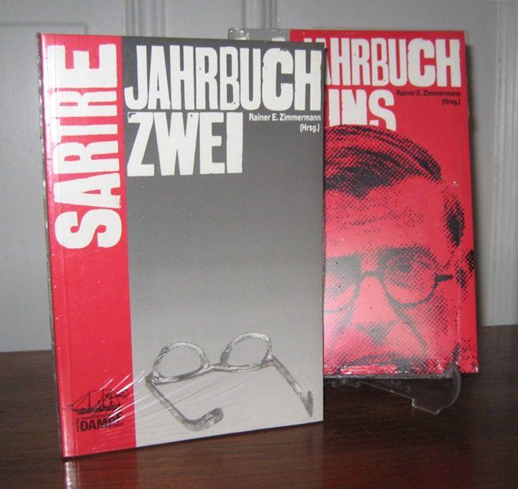 Zimmermann, Rainer E.: 2 Bände: Das Sartre - Jahrbuch Eins. / Jahrbuch Zwei.