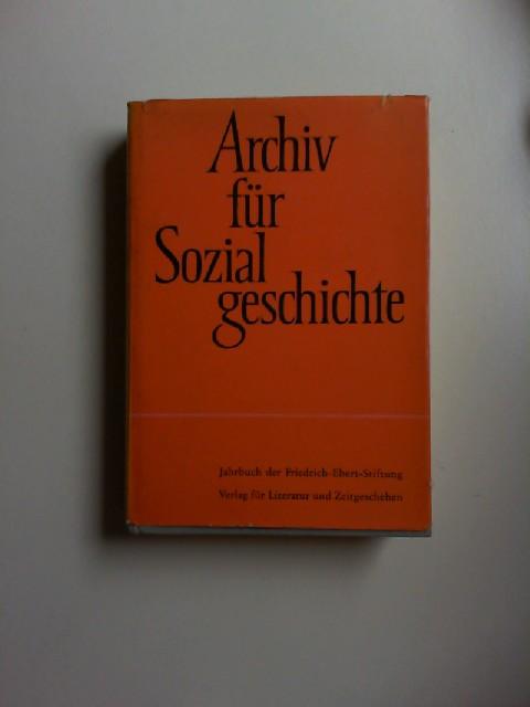 Friedrich-Ebert-Stiftung (Hg.) und Georg Eckert (Red.): Archiv für Sozialgeschichte. V. Band 1965. Jahrbuch der Friedrich-Ebert Stiftung.