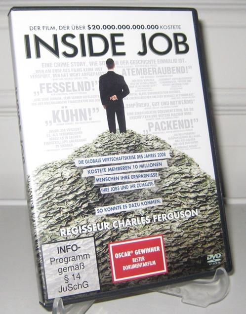 Ferguson, Charles (Regisseur): DVD: Inside Job. Dokumentarfilm.