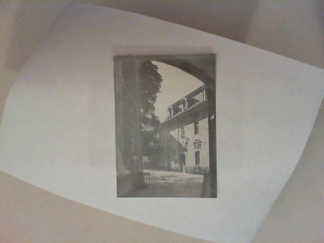 Wesselny (Bild): Bad Warmbrunn - Klosterhof [schwarz-weiß-Postkarte]