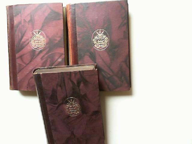 Kleist, Heinrich von: Heinrich von Kleist Werke (sechs Bände komplett in drei Büchern). Herausgegeben von Karl Federn.