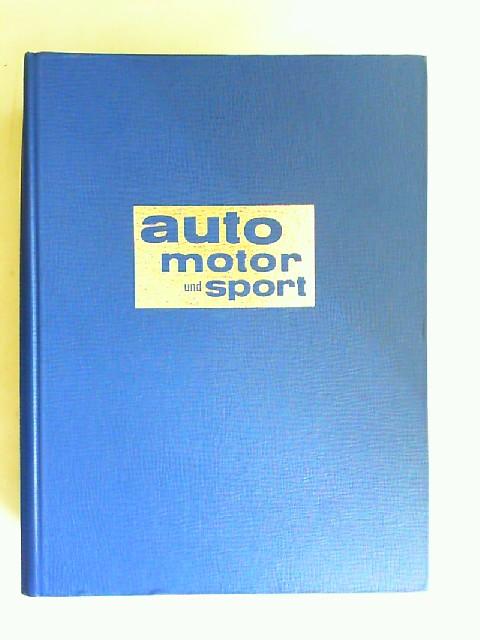 Pietsch, Paul (Hg.), Ludwig Vogel (Hg.) Helmut Luckner (Red.) u. a.: Auto Motor und Sport - Jahrgang 1981, Heft 1 bis 7 (=7 Hefte).