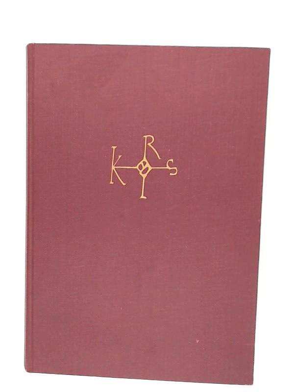 Beumann, Helmut (Hg.): Karl der Grosse. Persönlichkeit und Geschichte. [Karl der Grosse. Lebenswerk und Nachleben. Band 1]