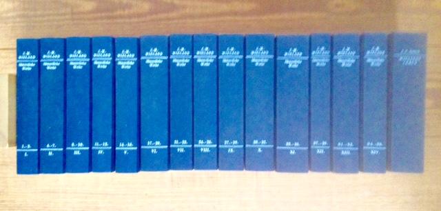 """Wieland, Christoph Martin, Hamburger Stiftung zur Förderung von Wissenschaft und Kultur (Hg.) und Wieland-Archiv (Hg.): Christoph Martin Wieland. Sämmtliche Werke - Teil 1 bis 39 in 12 Bänden, sechs Supplemente in zwei Bänden und """"Wielands Leben&q..."""