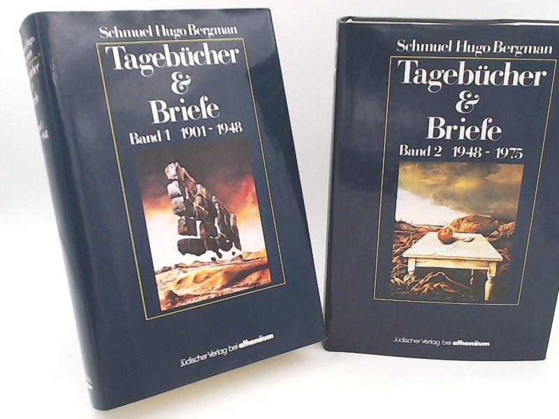 Bergman, Schmuel Hugo, Miriam Sambursky (Hg.) und Nathan Rotenstreich (Einl.): Schmuel Hugo Bergman: Tagebücher und Briefe 1901 - 1975 - Band 1: 1901 - 1948 und Band 2: 1948 - 1975 (zwei Bücher zusammen). Eine Veröffentlichung des Leo Baeck Instituts.