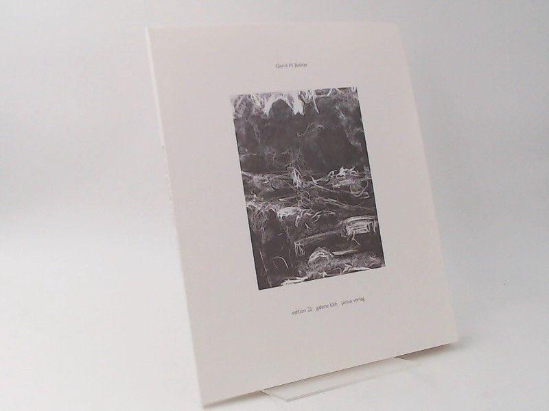 Bekker, Gerrit und Hans-Heinrich Lüth (Hg.): Gerrit M. Bekker. Edition 22. Galerie Lüth. [Schriften des Nordfriesischen Museums Ludwig-Nissenhaus, Husum Nr. 58]