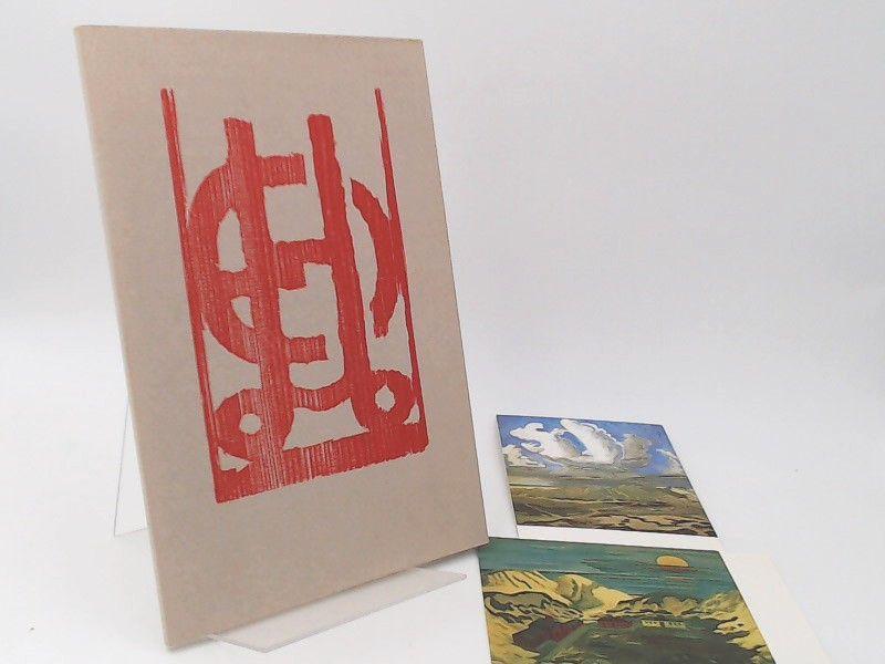 Heckel (Künstler), Erich und Galerie Rosenbach (Hg.): Erich Heckel. Aquarelle und Zeichnungen. Kleine Formate, Vorstudien, Notizen. [Katalog 17. Galerie Rosenbach]