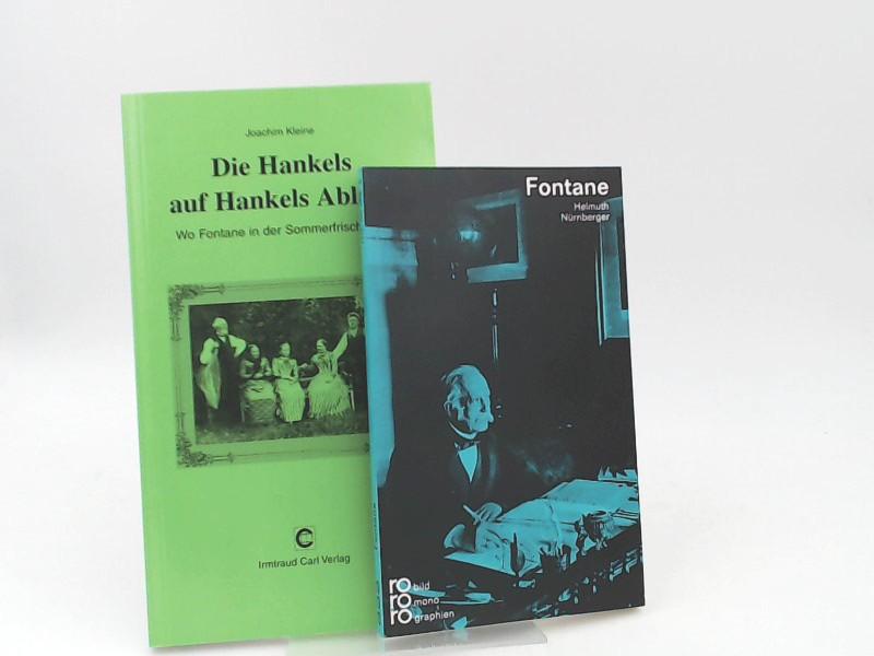 Kleine, Joachim: 1 Buch und 1 Zugabe - Joachim Kleine: Die Hankels auf Hankels Ablage - Wo Fontane in der Sommerfrische war. Zugabe - Helmuth Nürnberger: Theodor Fontane.