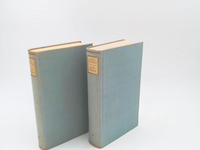 Goldoni, Carlo und Lola Lorme (Übers.): Lustspiele - Band I, II, III und IV in zwei Büchern zusammen.