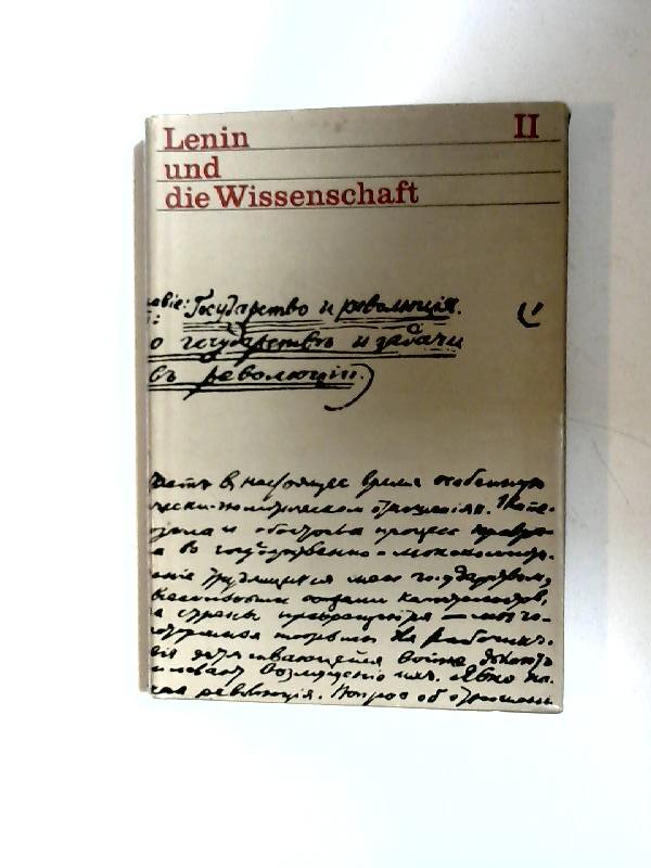 Rochhausen, Rudolf (Hg) und Günter Grau (Hg): Lenin und die Wissenschaft II: Lenin und die Naturwissenschaft. Beiträge zum 100. Geburtstag von W.I. Lenin.