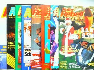 Zentralkomitee der Roten Garde (Hg.) und Norbert Taufertshöfer (Red.): Roter Rebell. Jugendmagazin der Roten Garde - 1978 komplett Heft 1 bis 8.