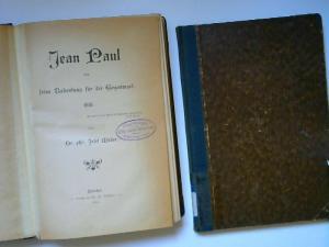 Müller, Josef: 2 Bücher zusammen - Josef Müller: 1) Jean Paul-Studien; 2) Jean Paul und seine Bedeutung für die Gegenwart.