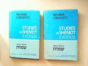 Leibowitz, Nehema: 2 Bücher zusammen - Nehema Leibowitz: Studies in Shemot (the Book of Exodus) . 1) Part 1 Shemot - Yitro (Exodus 1 - 20, 23); 2) Part 2 Mishpatim-Pekudei (Exodus 21,1 - 40,38).