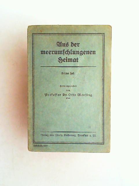 Mensing, Otto (Hrsg.): Aus der meerumschlungenen Heimat. Drittes Heft.