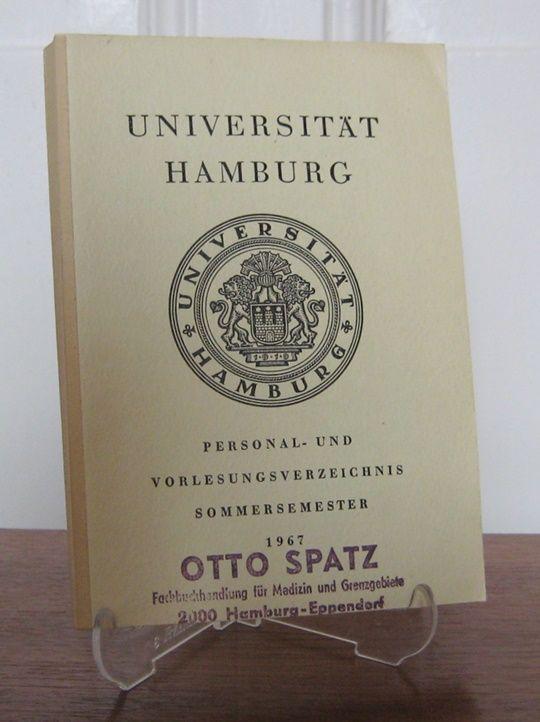 Universität Hamburg (Hrsg.): Universität Hamburg: Personal- und Vorlesungsverzeichnis, Sommersemester 1967.