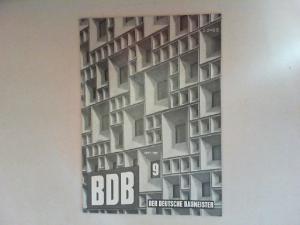 Gerigk, Herbert: Der deutsche Baumeister. Zeitschrift des Bundes Deutscher Baumeister, Architekten und Ingenieure BDB. Nr 9. September 1968. 29. Jahrgang. (Z 2149 E)