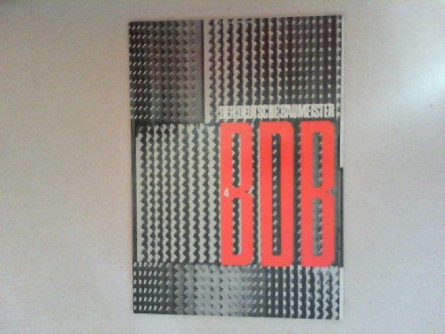 Neuhöfer, Wilhelm: Der deutsche Baumeister. Zeitschrift des Bundes Deutscher Baumeister, Architekten und Ingenieure BDB. Nr 4. April 1966. 27. Jahrgang. (Z 2149 E)
