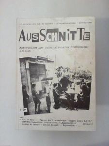 A. Vanti: Ausschnitte - Materialien zur internationalen Diskussion: Italien.