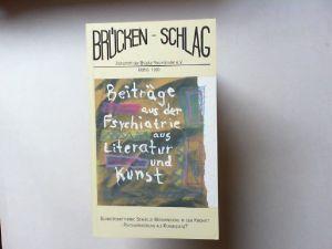 Bremer, Fritz: Brücken-Schlag (Brückenschlag) - Zeitschrift der Brücke Neumünster Heft 6. 1990. Schwerpunktthema: Sexuelle Misshandlung in der Kindheit - Psychiatrisierung als Konsequenz?.