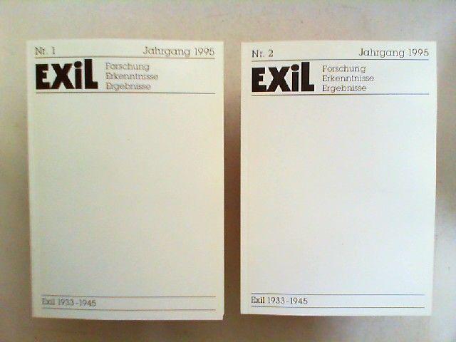 Koch, Joachim H. und Edita Koch (Hg.): Exil 1933 - 1945. Forschung, Erkenntnisse, Ergebnisse - XV. Jahrgang 1995 vollständig in zwei Heften zusammen.