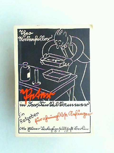 Rockenfeller, Theo: Peter in der Dunkelkammer. Ein Dunkelkammerkursus für ahnungslose Fotoanfänger.