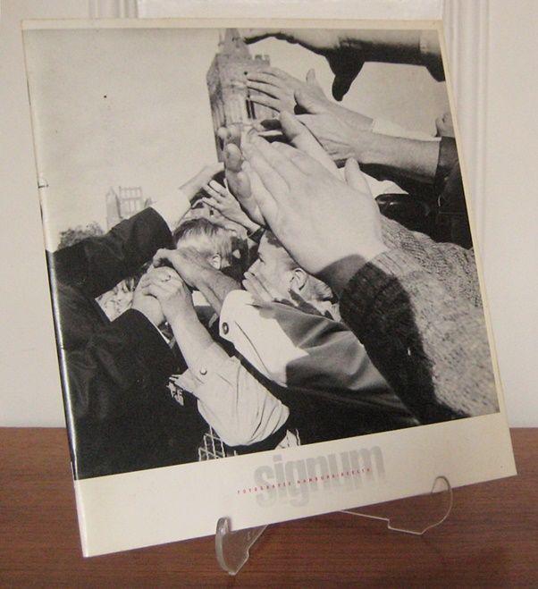 Signum Fotografie (Hrsg.): Signum Fotografie. Hamburg - Berlin. Eine Fotografengruppe stellt sich vor. / A group of photographers introduce themselves. Andreas Herzau, Christian Jungeblodt, Matthias Lindner, Michael Meyborg, Wolfgang Schilling.