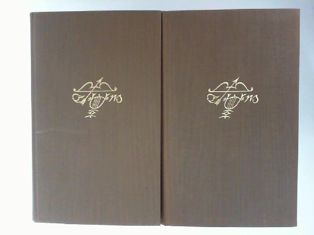 Mann, Erika (Hg.) und Thomas Mann: 2 Bände - Thomas Mann: 1. Briefe 1889 - 1936 und 2. Briefe 1937-1947.