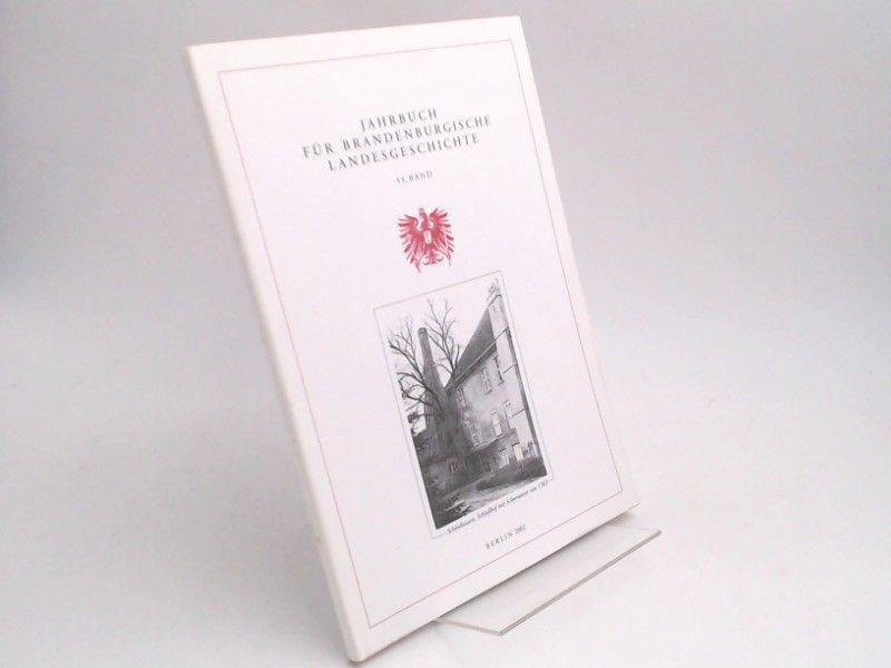 Eckart, Henning (Hg.) und Felix Escher (Hg.): Jahrbuch für Brandenburgische Landesgeschichte. 53. Band 2002.