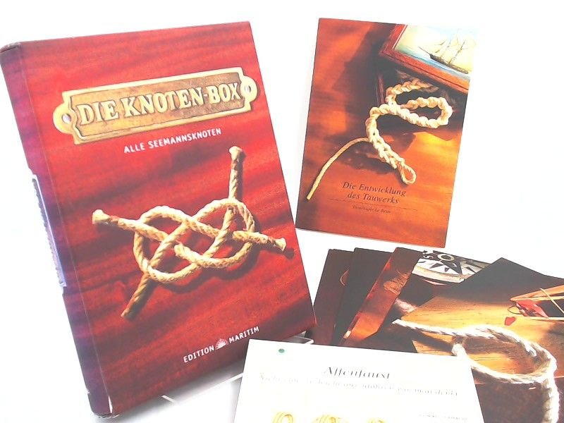 Le Brun, Dominique: Die Knoten-Box. Alle Seemannsknoten. [Edition Maritim]