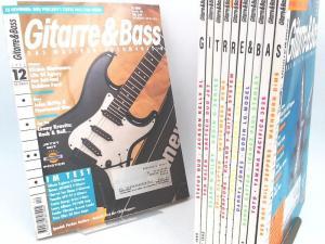 Roseberg, Dieter (Hg.): Gitarre & Bass. Das Musiker-Fachmagazin - fast vollständiger Jahrgang 1995 (April-Heft fehlt, 11 Hefte zusammen).
