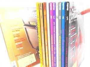 Roseberg, Dieter (Hg.): Gitarre & Bass. Das Musiker-Fachmagazin - fast vollständiger Jahrgang 2005 (Februar- und April-Heft fehlen, 10 Hefte zusammen).