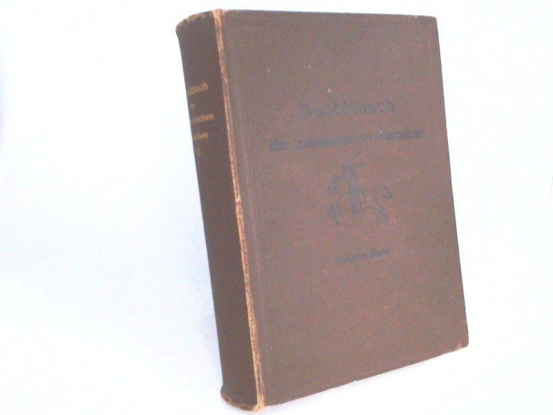 Verband der Pferdezüchter in den holsteinischen Marschen (Hg.): Gestütbuch der holsteinischen Marschen. Sechster Band [VI.] Band.