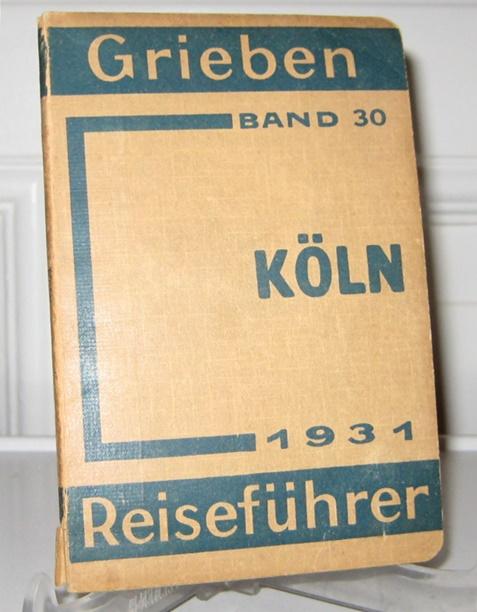 Grieben Reiseführer: Grieben Reiseführer Köln und Umgebung, mit Angaben für Automobilisten. Mit 3 Karten und 3 Grundrissen. [Grieben Reiseführer, Band 30].