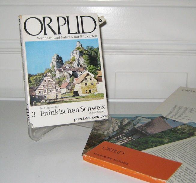Seibert, Dieter: Orplid. Wandern und Fahren mit Bildkarten. Band 3 - Im Herzen der Fränkischen Schweiz.