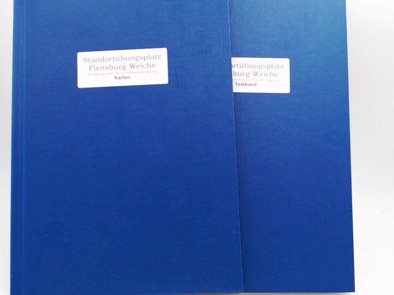 """Oeding, Andreas: 2 Bücher zusammen - Biologische Analyse und naturschutzfachliche Bewertung des """"Standortübungsplatzes Flensburg-Weiche"""" - Ermittlung einer Naturerlebnisraumeignung. 1) Textband; 2) Karten. Magisterarbeit."""