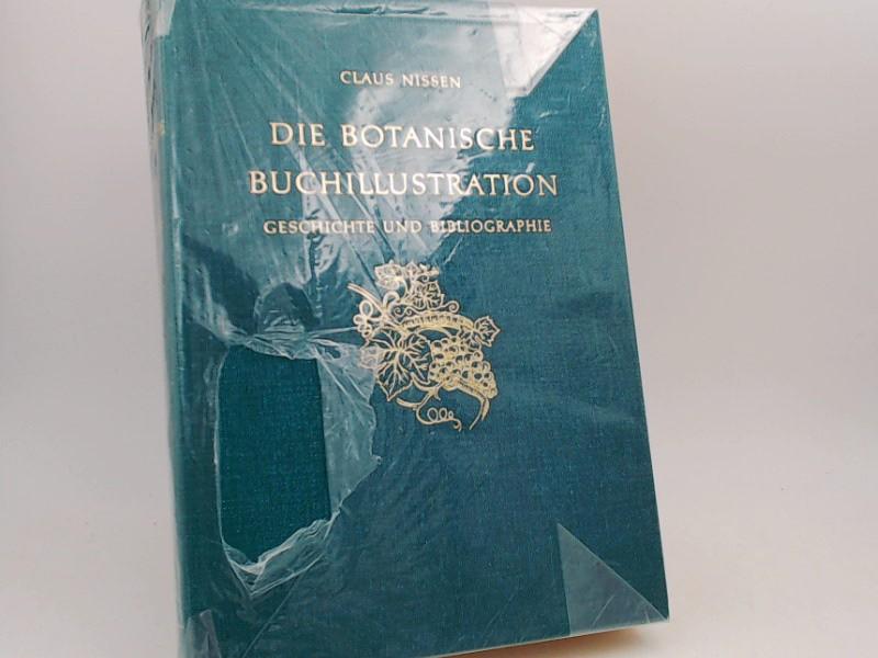 Nissen, Claus: Die botanische Buchillustration. Ihre Geschichte und Bibliographie.