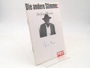 Wahlbüro der PDS (Hg.) und Stefan Heym: Die andere Stimme: Stefan Heym.