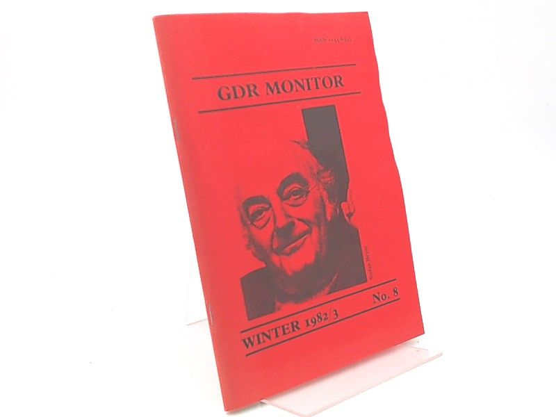 Wallace, Ian (Hg.): GDR Monitor. Winter 1982/3. No. 8. Stefan Heym.