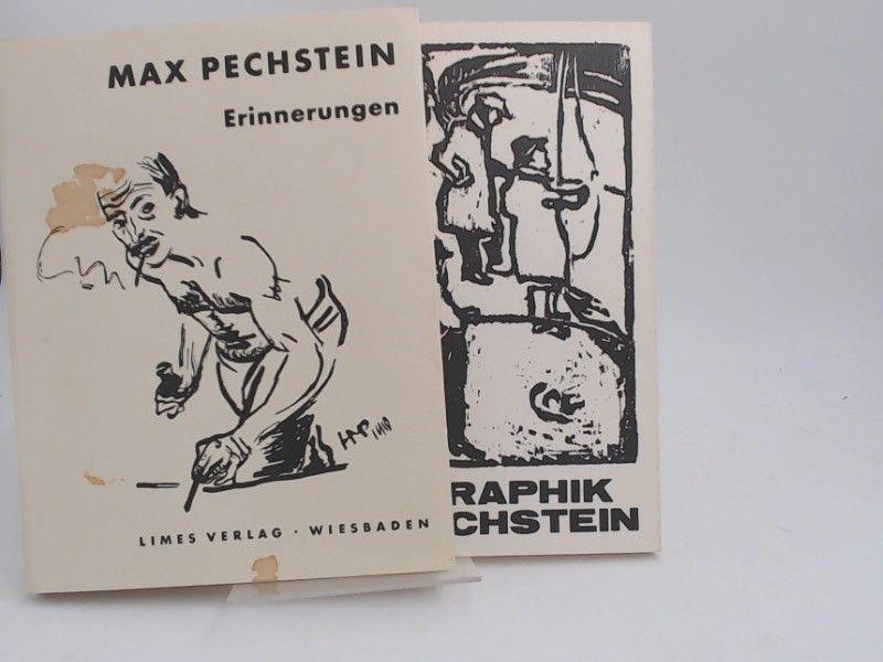 Pechstein, Max und Leopold Reidemeister (Hg.): 1 Buch und 1 Zugabe - Max Pechstein. Erinnerungen. Mit 105 Zeichnungen des Künstlers. ZUGABE: Max Pechstein. 1881-1955. Graphik.