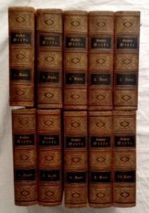 Goethe, Johann Wolfgang und Karl Goedeke (Einleitungen): Goethes Sämmtliche [sämtliche] Werke. Vollständige Ausgabe in zehn Bänden.