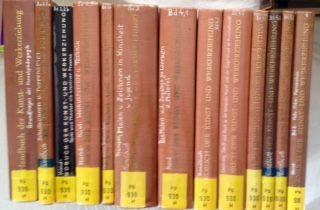 Otto, Gunter (Herausgeber), Horst-Peter Zeinert (Herausgeber) Wolfgang Kehr (Herausgeber) u. a.: Handbuch der Kunst- und Werkerziehung - 13 Bände zusammen: 1) Band I: Grundfragen der Kunstpädagogik; 2) Band II/2: Schulbühnen- und Puppenspiel; 3) Band I...