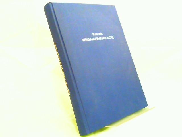 Kehrein, Joseph (Bearb.) und Franz Kehrein (Bearb.): Wörterbuch der Weidmannssprache für Jagd- und Sprachfreunde.