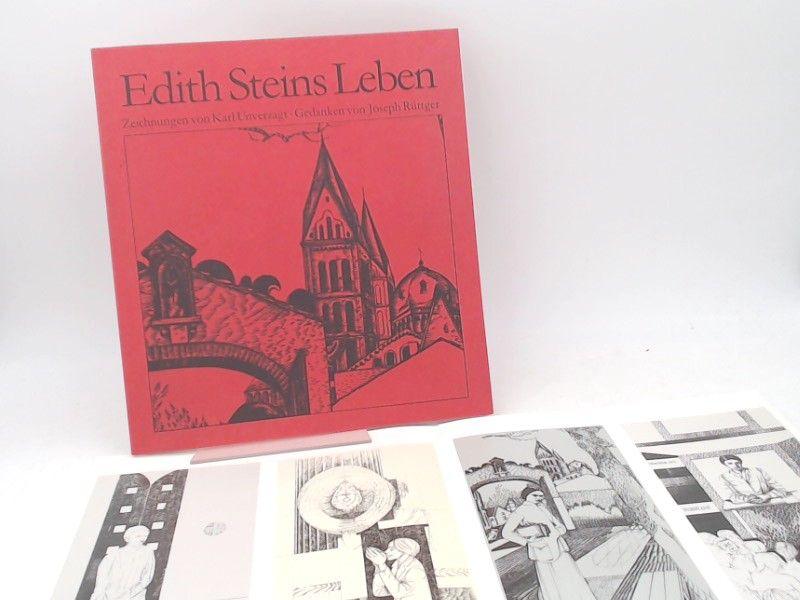 Unverzagt, Karl (Illustrator) und Joseph Rüttger: Edith Steins Leben. Zeichnungen von Karl Unverzagt. Gedanken von Joseph Rüttger