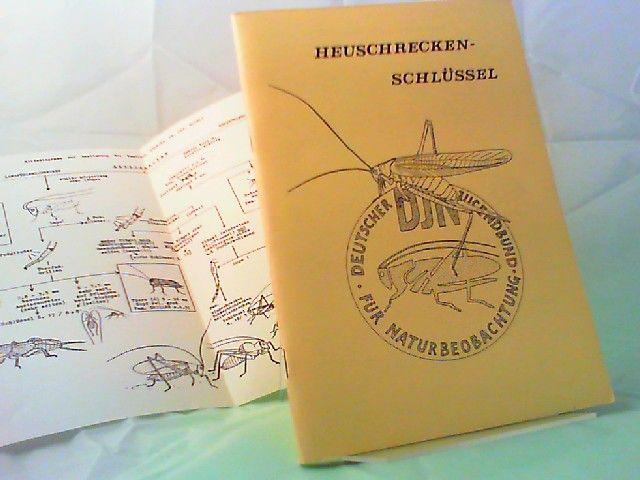 Grein, Günter (Schlüsseltabellen), Gert Ihssen (Zeichnungen + Layout) und Deutscher Jugendbund für Naturbeobachtung (Hg.): Heuschreckenschlüssel. Bestimmungsschlüssel für die Heuschrecken der Bundesrepublik Deutschland und angrenzender Gebiete.