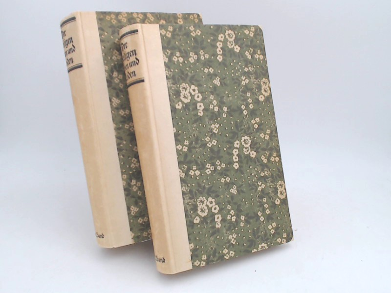 2 Bücher zusammen - Der heiligen Leben und Leiden anders genannt das Passional. Erster Band: Winterteil; zweiter Band: Sommerteil.