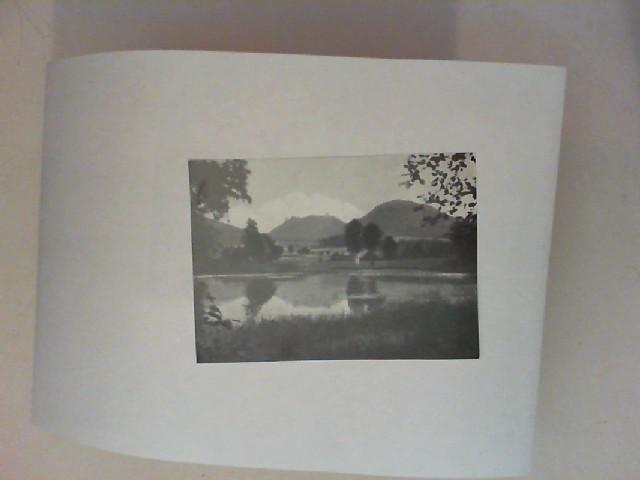 Der Großteich b. Fischbach mit den Falkenbergen [schwarz-weiß-Postkarte]